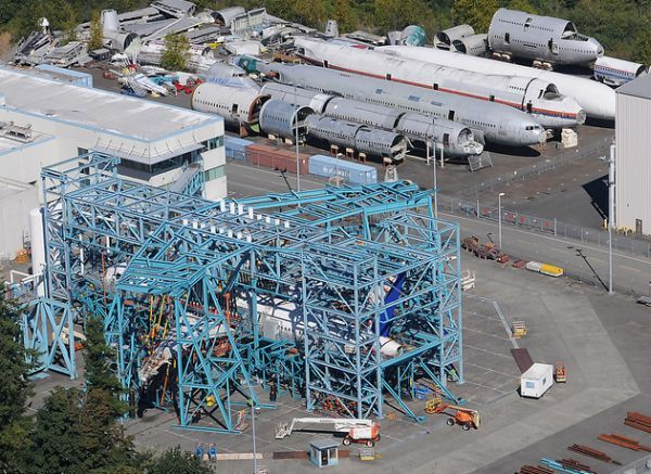 A Different Kind of Aircraft Graveyard: Fatigue Test Airframes at Paine Field, Washington