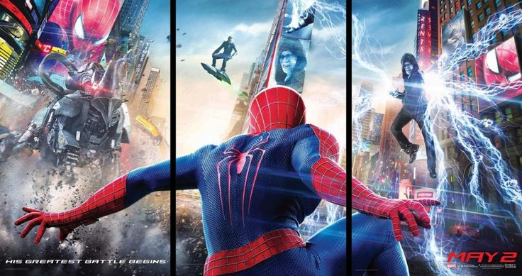 The Amazing Spider-Man 2 First Official Trailer