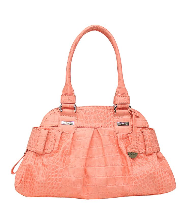 Jessica Simpson Collection.  Coral Daisy Large Satchel