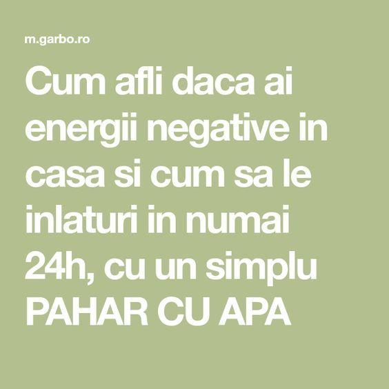 Cum afli daca ai energii negative in casa si cum sa le inlaturi in numai 24h, cu un simplu PAHAR CU APA