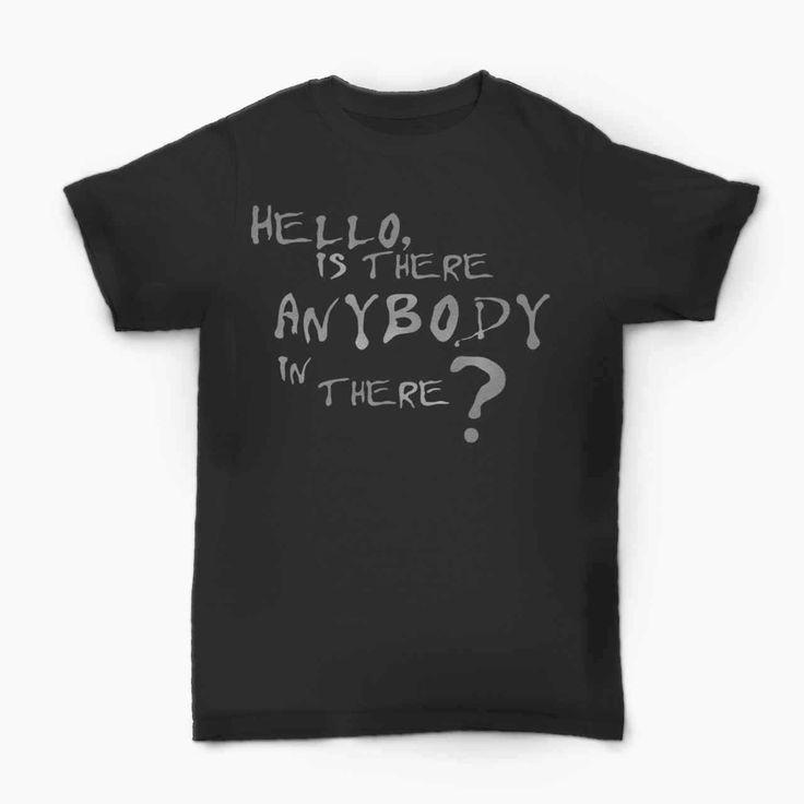 Pink Floyd Comfortably Numb Lyric  T-Shirt  BallzBeatz . com