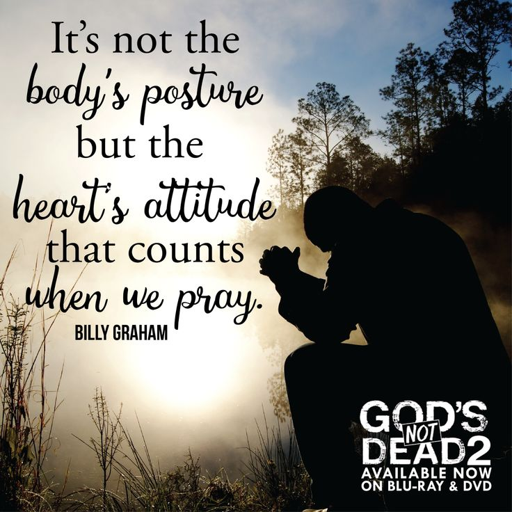 Amen! Such a great #quote on #prayer from Billy Graham.