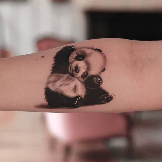29 best images about tattoo on pinterest panda babies for Baby panda tattoo