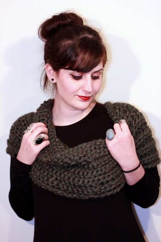 The one with the olive green cowl by winkitywink on Etsy, €38.00