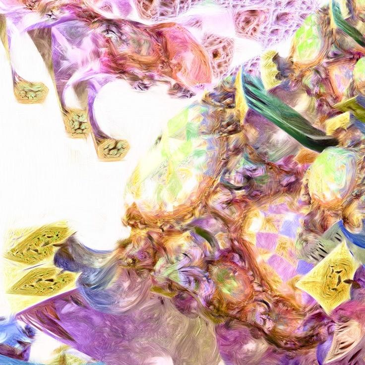 "Secret de la Pyramide de Kheops II. Availability: 555 Numbered and Signed Original Prints for Collectors. Description: Fine Art Acrylic Painting. Signed by philanthropist, physicist and artist Vincent Boucher. Includes Certificate of Authenticity from Vincent Boucher. Size : 36.63"" x 55.55""."