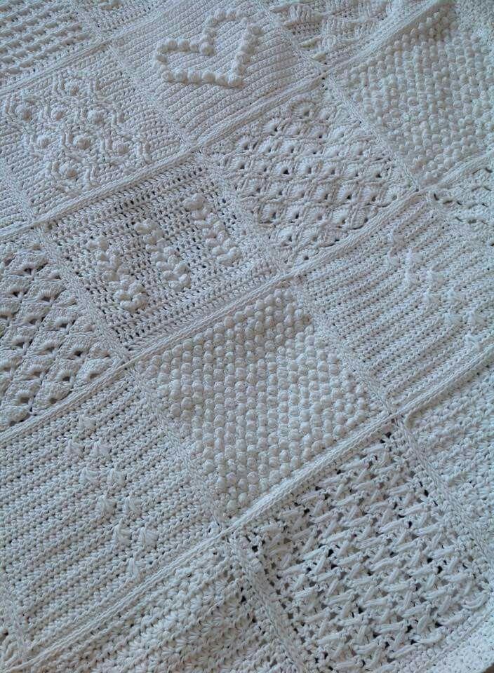 Scheepjes Blanket CAL 2016 (a variation) - In loving memory of the designer Marinke Slump (Wink)- Free Pattern available on Scheepjes Yarn Website