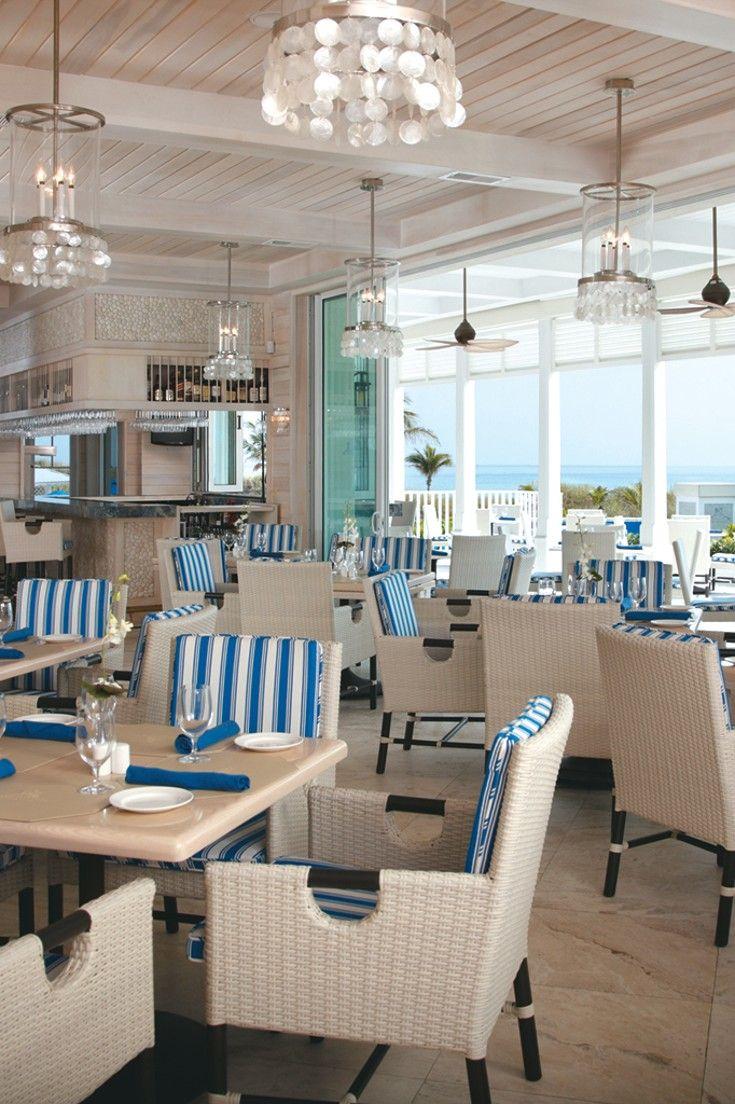 The Seagate Hotel & Spa - Delray Beach, Florida - Ocean views and fresh seafood are draws at the Seagate Beach Club.