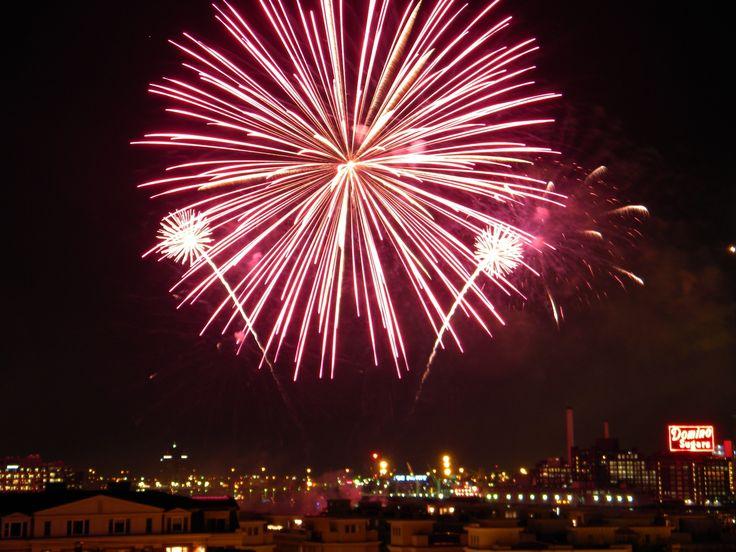 New Year's Eve Fireworks At Baltimore's Inner Harbor « CBS