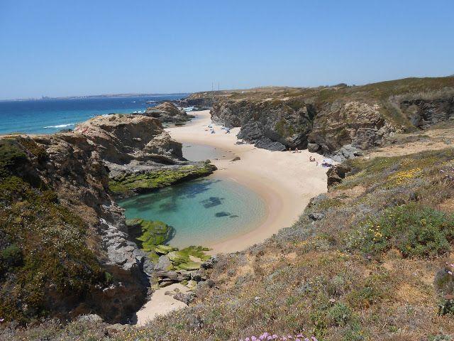 .Praia Samoqueira, Alentejo, Portugal.