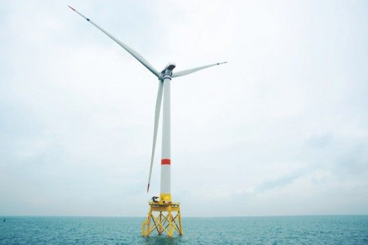 Alstom Completes World's Largest Offshore #WindTurbine Off the Belgian Coast