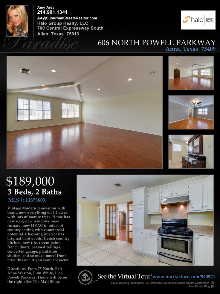 Property Flyer Virtual Tour Home For Sale Anna My Real