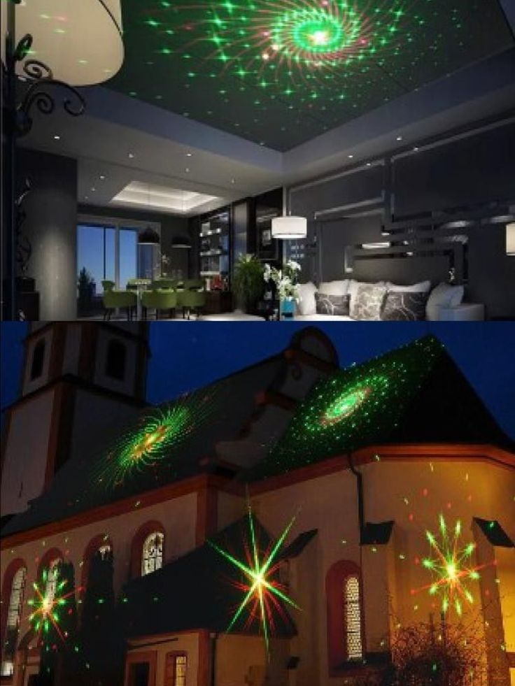 Outdoor Christmas Light Show Laser LED Projector Indoor Party Holiday Decoration #OutdoorChristmasLightShow