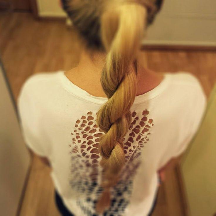THE ROPE. In trend pentru toamna 2013. #falltrends #hairstyletrend #beautysalon
