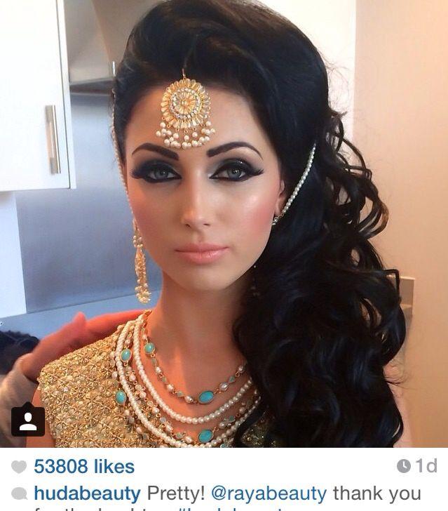 Bridal airbrush make-up