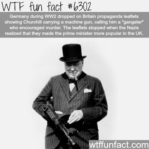 Gangster Winston Churchill - WTF fun facts