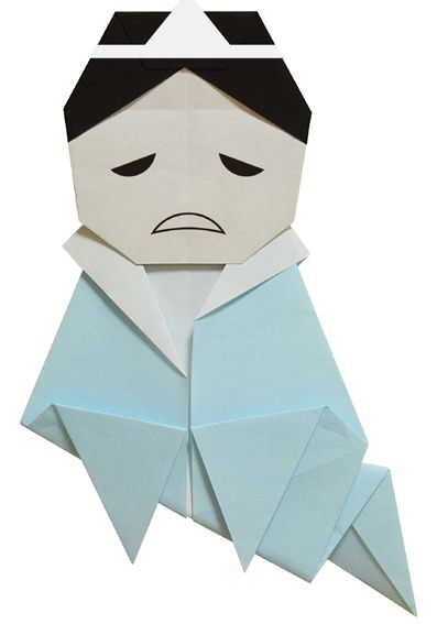 origami・A Yurei
