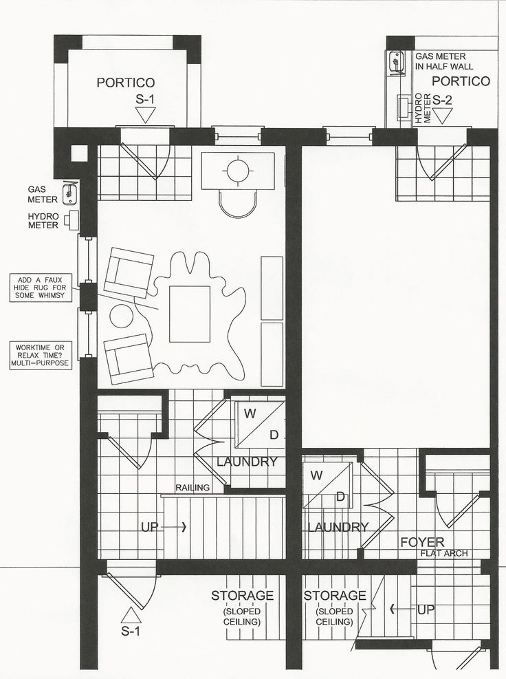 Every great design begins with a furniture plan. Even if you adapt the original you need a starting point to determine furniture sizes and placement. #Uptownes  Design: Jo-Ann Capelaci Builder: Geranium Homes
