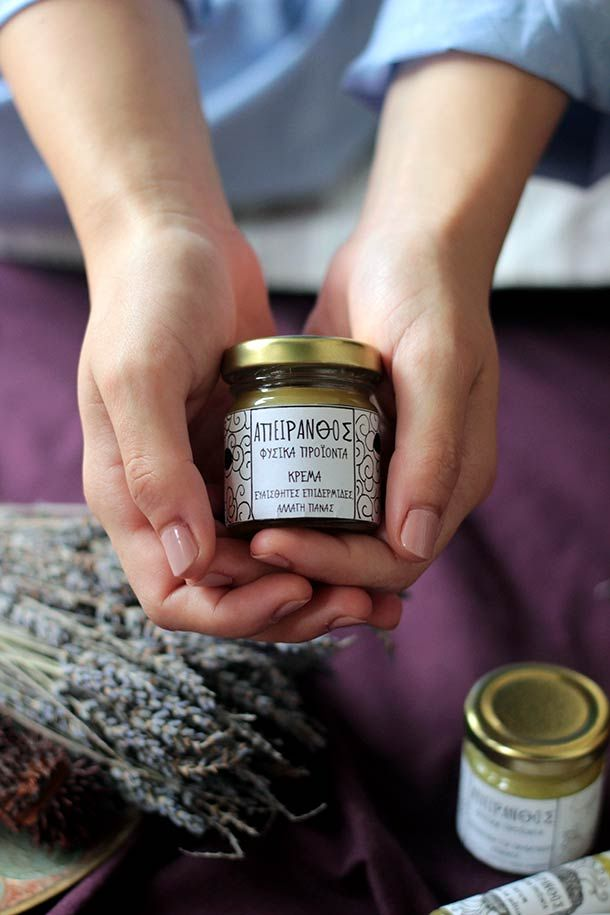 #apeiranthos #natural #cosmetics   photo by http://teapot.gr/