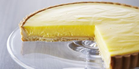 Anna Olson ... a delicate pastry crust serves as the base for a delectable lemon curd filling. Incredible!