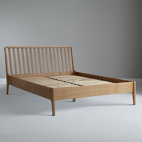 Buy House By John Lewis Maine Bedstead Double Online At John Lewis Furniture Woodwork