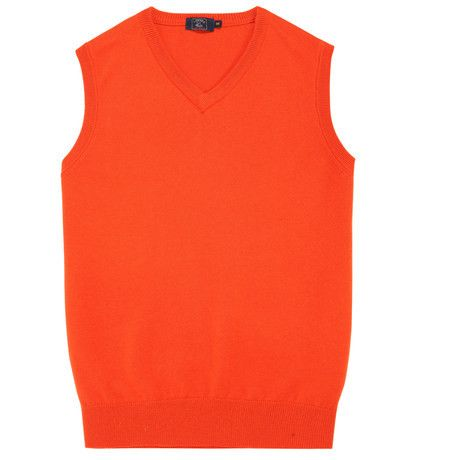 Soft Wool Men Sleeveless Sweaters High Quality Fashion Pure Colors Mens V Neck Sweater Clothes Slim fit Male Sweater