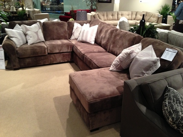 Brown Large Sectional By Stanton Furniture. // Www.KeyHomeFurnishings.com  In Portland