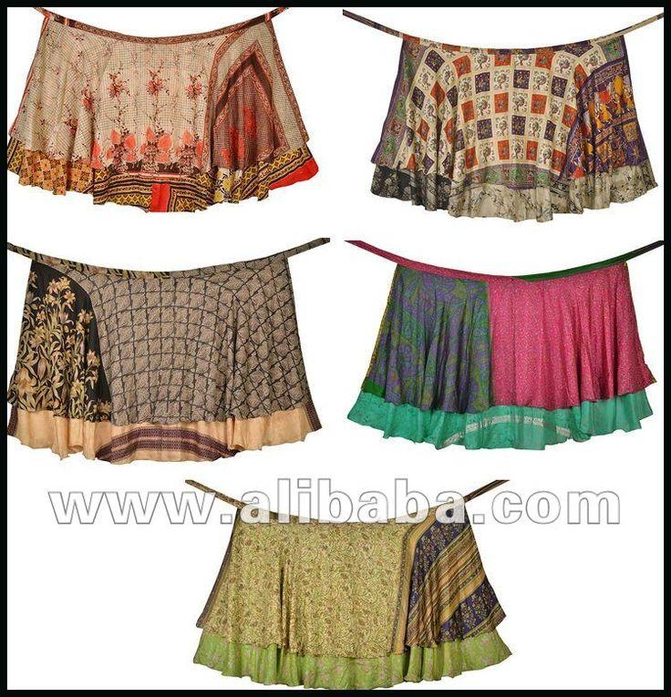 sari di seta vintage avvolgente gonna lunga-Gonna di taglia forte-Id prodotto:127966112-italian.alibaba.com