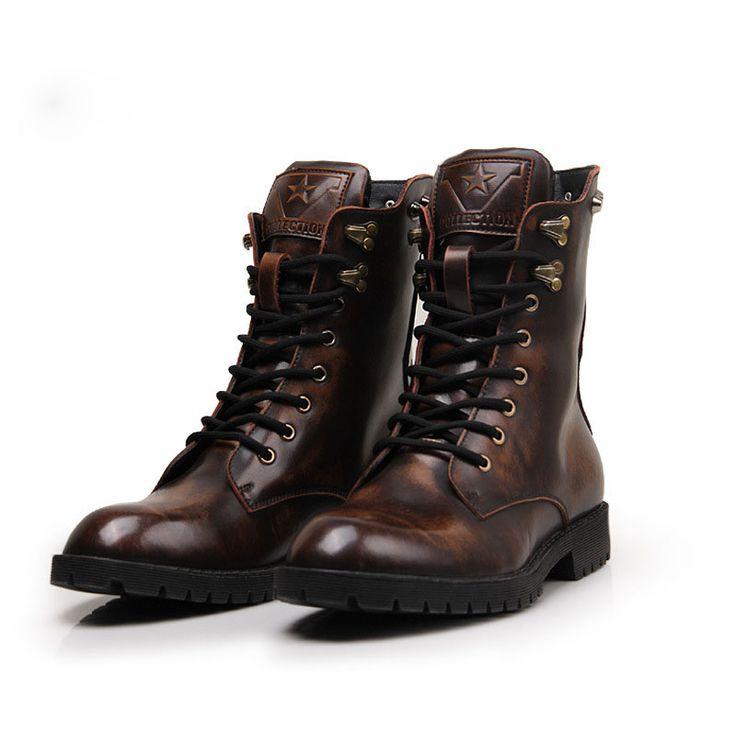 Resultado de imagen para botas de hombre