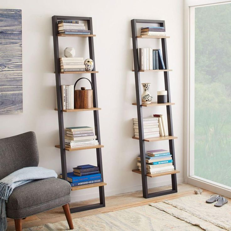 Inspired by DIY ladder shelving, our desk set has the same industrial chic look with the sturdiness of a complete shelving unit. Its two-toned finish in basalt grey and waxed oak fits in with an eclectic mix of bedroom or living room styles.