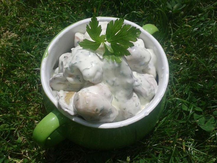 Tejfölös újkrumpli saláta | Mákvirág - Poppy