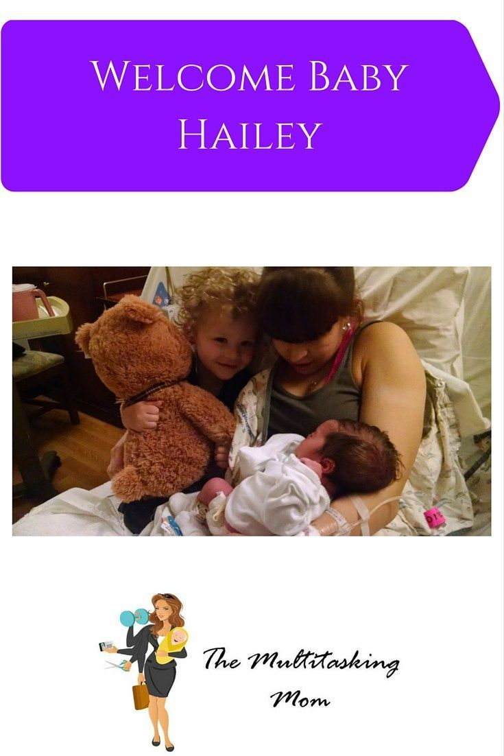 We finally welcome baby Hailey to the family and a few anecdotes on how our three year old interprets the experience of becoming a big brother.