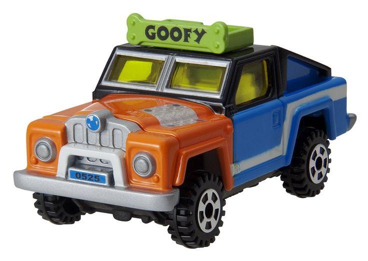 Tomica - Disney Motors Works Division DM-13 X-Cruiser - Goofy สินค้าลิขสิทธิ์แท้ นำเข้าจากประเทศญี่ปุ่น เหมาะสำหรับเด็กอายุ 3 ปีขึ้นไป