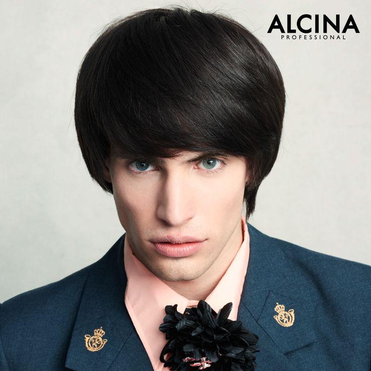 "Romeo trägt den Salon-Look von ""La Literatura"" // Los Bellos Perdedores - We are Beautiful Nerds Kollektion 2016/2017    Model: Roméo Durand-Caminos Hair: Paul Gehring Hairdressing"