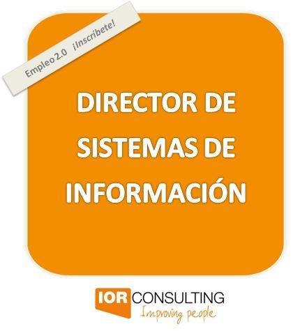 Empresa sin ánimo de lucro, de ámbito nacional, que trabaja en el sector del bienestar social ubicada en Barcelona, precisa incorporar un:     DIRECTOR DE SISTEMAS DE INFORMACIÓN