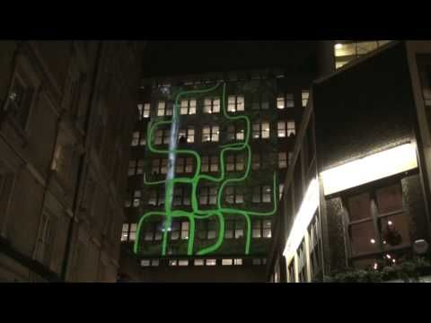 3d building projection There are tons of great examples out there for your viewing pleasure here, the global retailer, h&m, brought their flagship store in amsterdam to life with 3d projection mapping on their historic building.