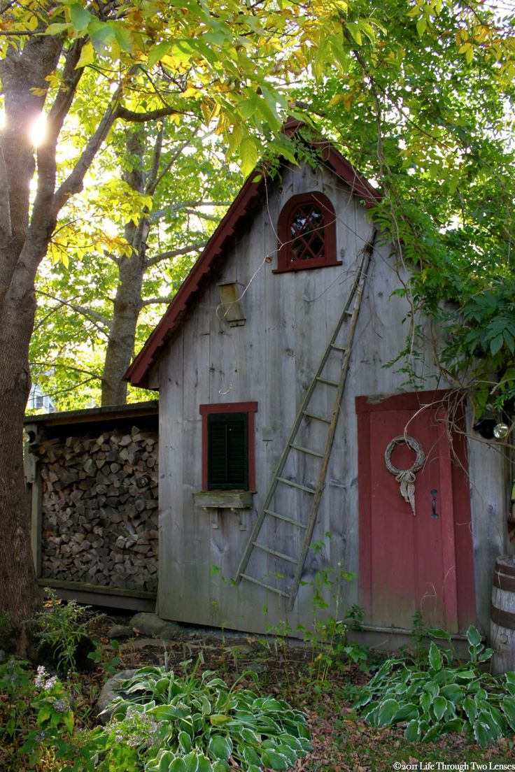 68 best primitive garden sheds images on pinterest potting sheds