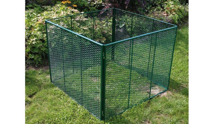 Der Komposter Metall ist in der Farbe Moosgrün erhältlich. EIn Komposthaufen geschützt von natürlichen Feinden, können Sie mit den Metall Kompost haben. Der Kompost ist in den Maßen 100 x 80 x 100 cm erhältlich. Dieses und weiteres Gartenzubehör finden Sie unter http://www.meingartenversand.de/gartenzubehoer/gartenausstattung.html