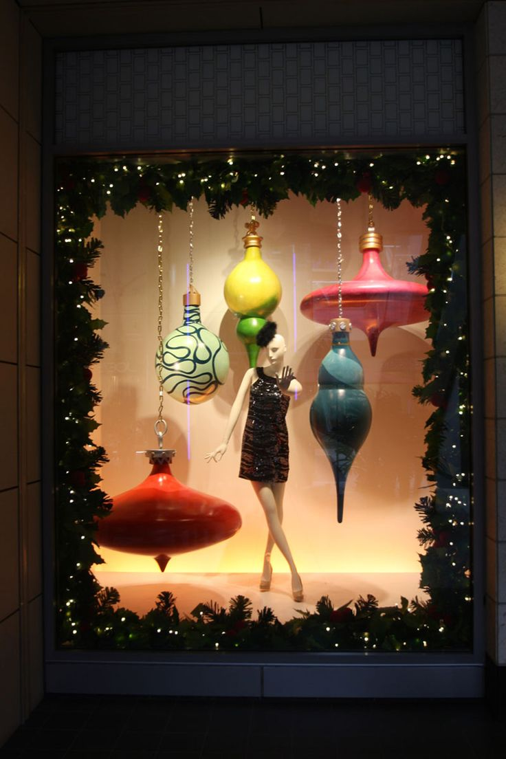 Christmas ornament display case - Window Shopping 15 Stunning Holiday Displays In L A