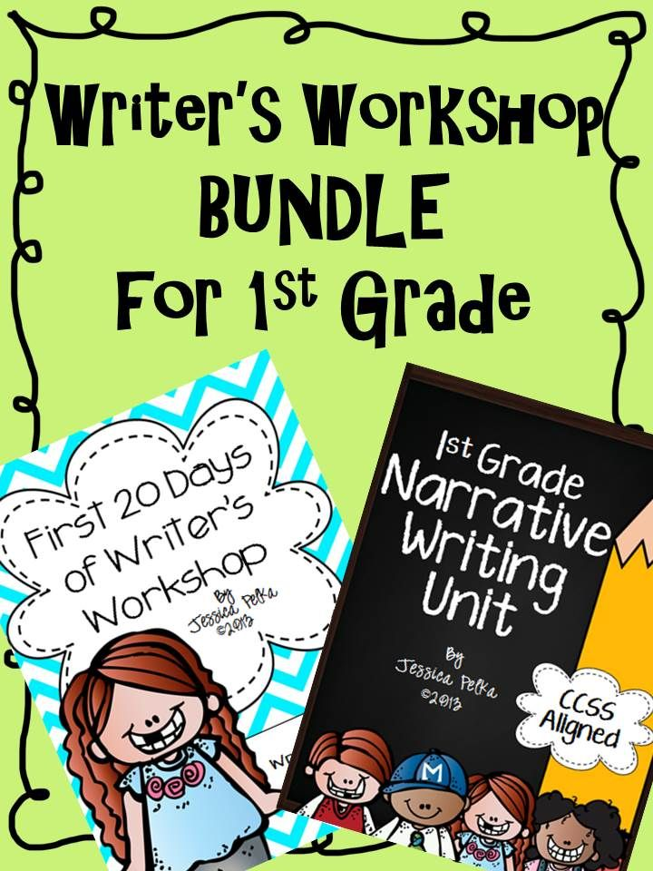 Writer's Workshop bundle for 1st Grade...Just what you need for your Firsties when you head back to school! $