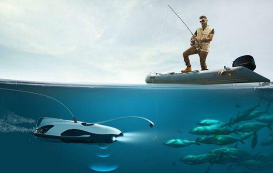 Deze lokaas-drone maakt van vissen een unieke belevenis