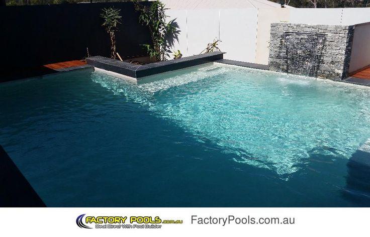 Factory Pools | Sunshine Coast - Nth Brisbane - Gympie - Cooloola | L Shaped Pool
