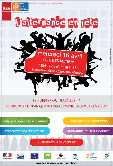 17 best images about print on pinterest flyers and concerts for Maison de l emploi saint quentin