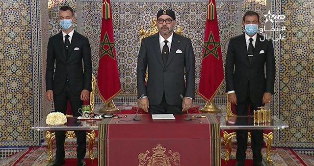 الملك محمد السادس يحذر الطبقة السياسية من استغلال مشروع التغطية الإجتماعية Talk Show Scenes Talk