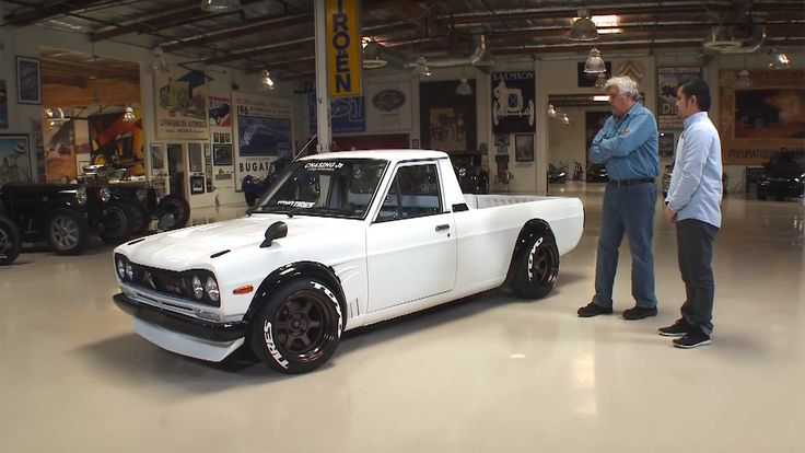 Jay Leno Thinks This Datsun 1200 Pickup Is Damn Near