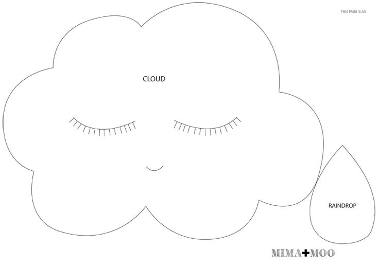 mima + moo: DIY : cloud mobile