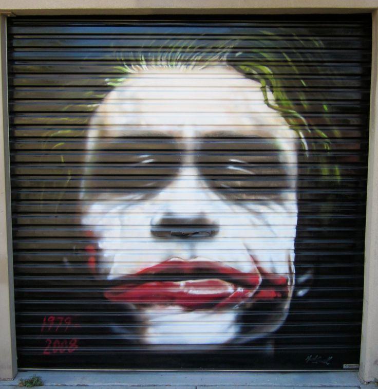 Heath Ledger tribute - Port Melbourne