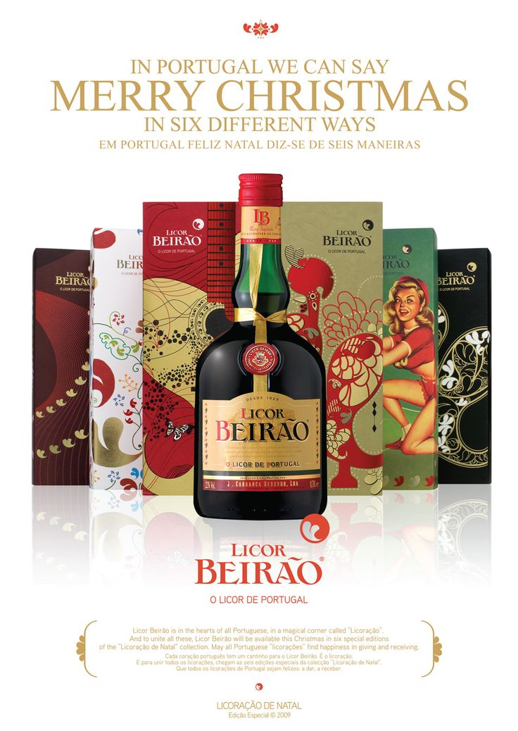 #licorbeirao #licordeportugal #portugal #publicidade #natal #packaging