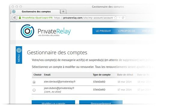 PrivateRelay une alternative sécurisée à Gmail, Hotmail et Yahoo Mail en France