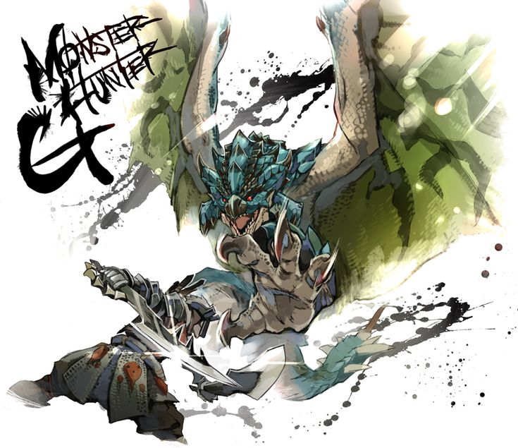 armor azure_rathalos claws monster monster_hunter monster_hunter_g rathalos red_eyes ryuuta_(ipse) scales tail weapon wyvern