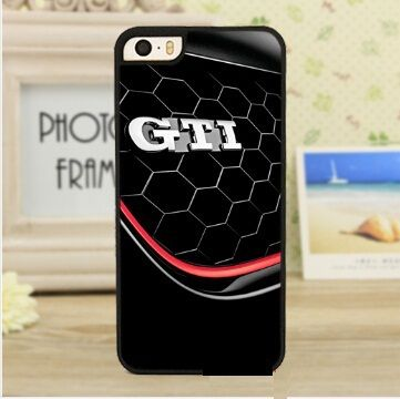 vw gti emblem Volkswagen Cover case for iphone 4 4s 5 5s 5c 6 6s plus samsung galaxy S3 S4 mini S5 S6 Note 2 3 4